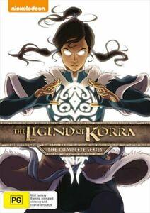 Legend Of Korra - Book 1-4 Boxset, The DVD