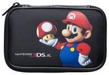 Nintendo new 3DS XL / 3DS XL Mario Bros Tasche 3DSXL515 Mario - Toad schwarz NEU