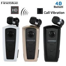 FineBlue F910 Wireless Bluetooth Headsets Business Earphone Vibrating Alert Clip