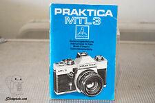 PRAKTICA MTL3 MODE D'EMPLOI INSTRUCTION MANUAL