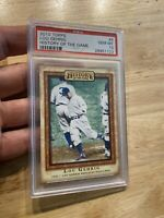 Lou Gehrig PSA 10 GEM MINT 2010 Topps #9 Yankees History Card INVESTMENT NR