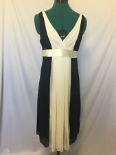 Hot options black and white size 12 Dress