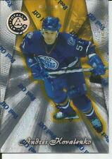 1997-98 PINNACLE TOTALLY CERTIFIED - MIRROR GOLD - ANDREI KOVALENKO 0025/0069