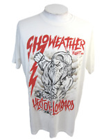 Showeather Fight Co T Shirt XXL MMA Judo Hector Lombard Lightning 2 side graphic