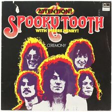 Ceremony  Spooky Tooth With Pierre Henry Vinyl Record