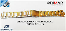 REPLACEMENT WATCH BAND CASIO ORIGINAL FOR CASIO EFA-115