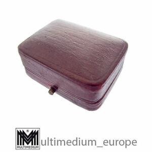 Antikes Jugendstil Ohrring Etui Schmuck Schatulle Schachtel Box 🌺🌺🌺🌺🌺