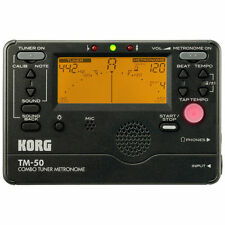 KORG TM 50 ACCORDEUR CHROMATIQUE ET METRONOME
