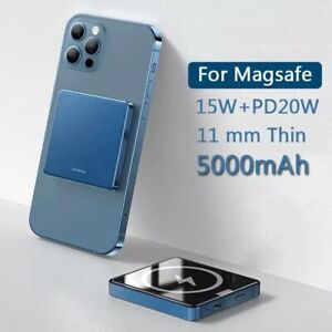 10000mAh Magnetic Power Bank 15W Fast Wireless charging For iphone
