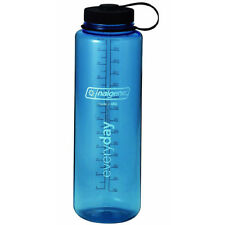 Nalgene Tritan Wide Mouth Water Bottle - 48 oz. - Blue/Black