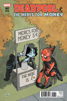 DEADPOOL AND THE MERCS FOR MONEY #7 Fosgitt 1:25 Variant NM