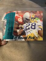 1995 Classic NFL Draft 1st Round Pick Die Cut Auto /1750 Korey Stringer