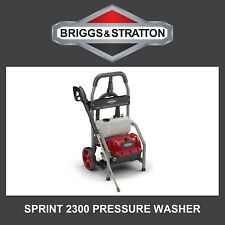 Briggs and Stratton 2300PSI Electric Pressure Washer, 5.3 LPM, 6m hose