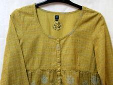 Top blouse vert à manches longues Terre de Marins t.36