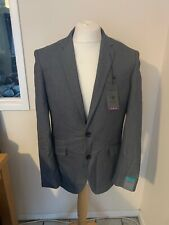 Primark Grey Slim Fit Suit Jacket NWT 40 R