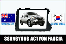 AERPRO FP8194 DOUBLE DIN FACIA SSANGYONG ACTYON 2012+ AUDIO UPGRADE DASH KIT