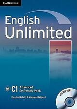 English Unlimited Advanced Self-Study Pack (workbook With Dvd-Rom): By Ben Go...