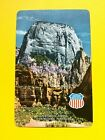 Union Pacific Railroad Great White Throne Zion Nat'l Park Swap Playing Card