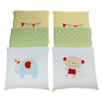 6PCs Baby Crib Bumper Cotton Infant Bed Cot Protector Elephant and Monkey