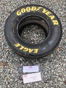 2005 Brian Vickers #25 GMAC Race Tire Slick from Pocono Bristol Vegas NASCAR COA