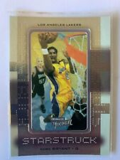 2000-01 Upper Deck Ultimate Victory Starstruck Basketball Card #S1 Kobe Bryant