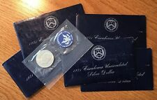 1971-S Eisenhower Ike Dollar Uncirculated 40% Silver - Original Blue Env & Cello