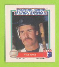 1988 Starting lineup Talking Baseball - Roger Clemens  Boston Red Sox