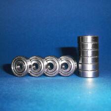 10 Kugellager R6 ZZ / Zoll / Inch / 9,525 x 22,225 x 7,14375 mm