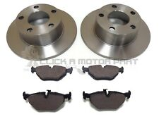 BMW Z4 E85 ROADSTER 03-09 2.0 2.2 2.5 REAR 2 BRAKE DISCS AND PADS (280MM SOLID)