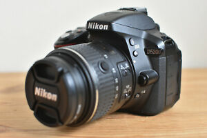 NIKON D5300 DSLR CAMERA KIT WITH NIKKOR LENS USB CHARGER BATTERY STRAP & 16GB SD