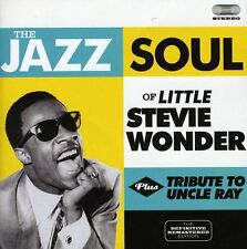 Stevie Wonder, Stevi - Jazz Soul of Little Stevie / Tribute to Uncle Ray [New CD