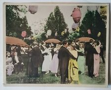 1900'S *THE LAWN PARTY* VINTAGE COLORIZED STILL UNKNOWN ORIGIN (AS)
