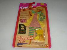 NEW ON CARD BARBIE HAPPENING HAIR FASHIONS 11350 MATTEL 1993 LA LOOKS VINTAGE >>
