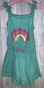 Girls Age 2-3 Years - Shorts Playsuit Rainbow Design 🌈
