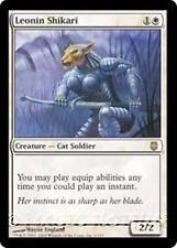 LEONIN SHIKARI Darksteel MTG White Creature — Cat Soldier RARE