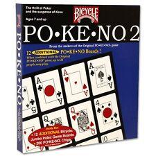 Pokeno 2 (Po-Ke-No 2): Bicycle Poker-Style Card Game w/ 12 Boards