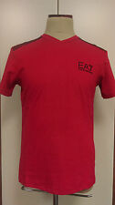ARMANI figurbetonte Herren-T-Shirts mit V-Ausschnitt
