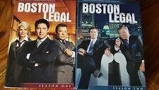 Boston Legal complete season 1 & 2 (12 dvd's) (region 1)