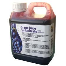 Rojo jugo de uva concentrado 1 L grado alimenticio Home Brew y vino haciendo