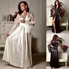 415e9eda9f Women Sexy Sleepwear Nightgown Satin Silk Babydoll Lace Robes Sleep Dress  Skirt