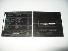 A&R Sampler January 2004 Volume 30 Universal Motown cd Digipak cd Ex/digi vg (D2