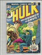 Incredible Hulk 182  (1974)   2ND APPEARANCE WOLVERINE!!!  HAS  MVS!!