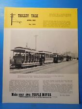Trolley Talk #144 1981 April Selby Avenue cable line. Track planning ideas