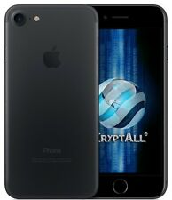 Kryptall Apple iPhone 7 32GB Black Unlocked Works Worldwide Encrypted K-iPhone