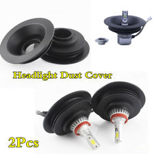 38mm 2Pcs Rubber Car LED Headlight HID Lamp Dust Cover Waterproof Dustproof Cap