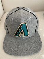47 Brand MLB Arizona Diamondbacks Cooperstown Captain Retro Snapback Hat NEW '47