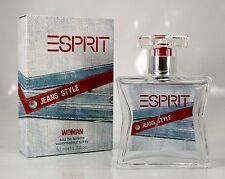 2x Esprit Jeans Style Woman 50ml EDT Eau de Toilette Spray