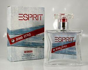 Esprit Jeans Style Woman 50ml EDT Eau de Toilette Spray Verpackung 1B