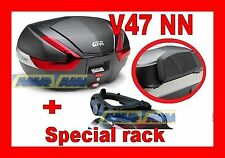 YAMAHA T - MAX  530 2012 VALIGIA BAULETTO V47NN + TELAIO SR2013 + SPALLIERA