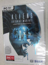 Aliens colonial marines limited edition PC (NEW)